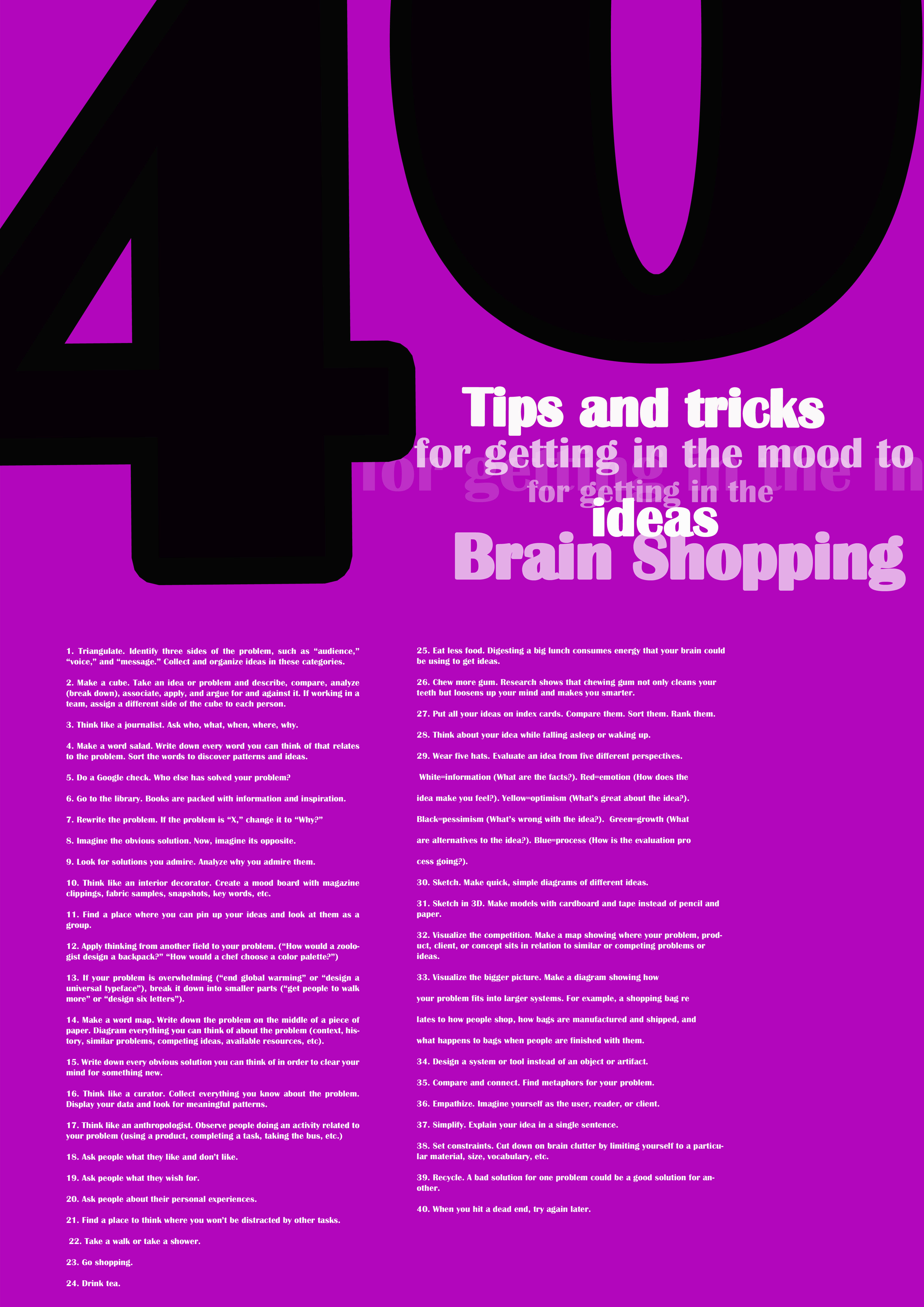 Poster design tips - Published February 11 2012 At 3508 4961 In Posters
