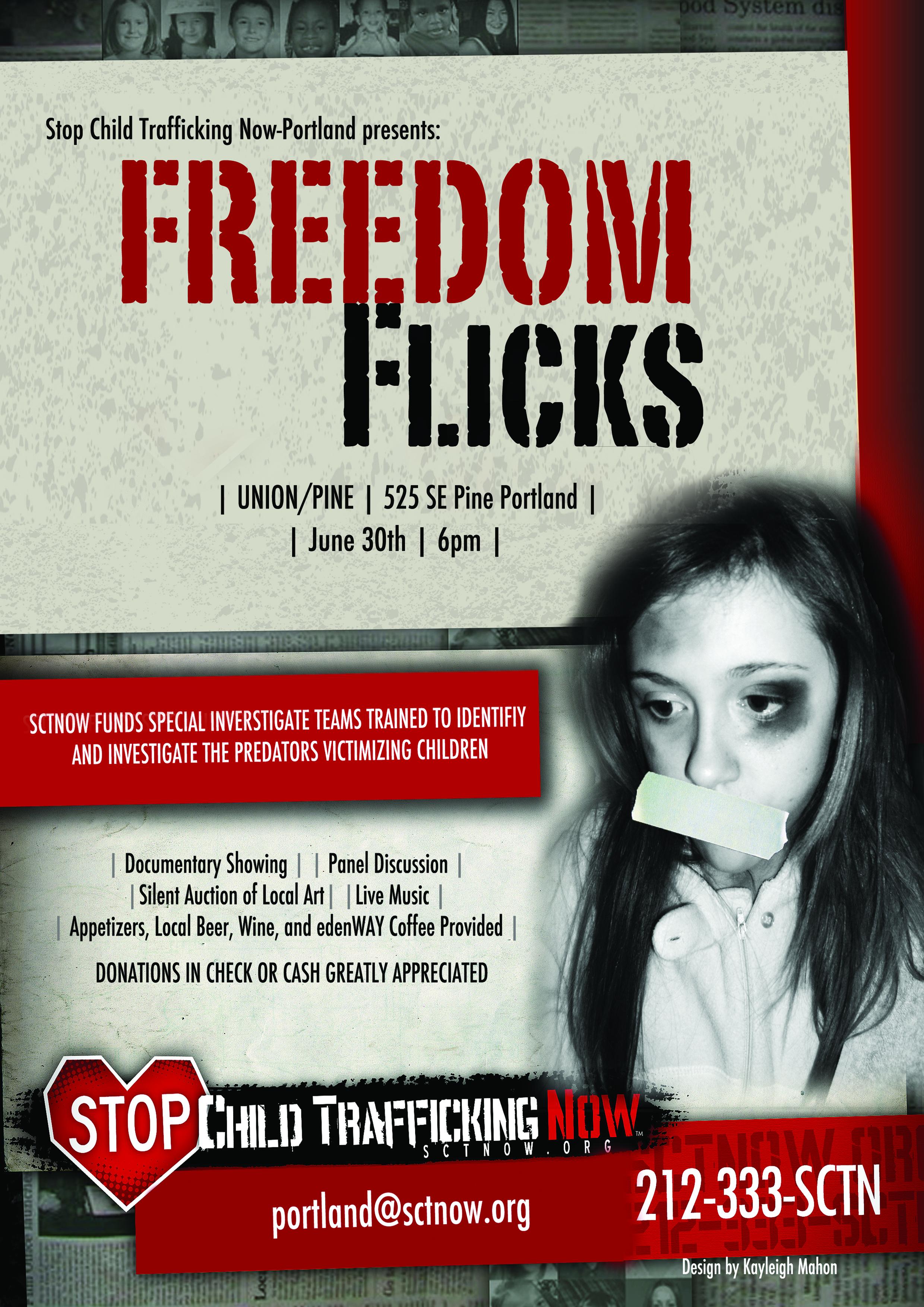 flyer design for portland  u2013 stop child sex trafficking