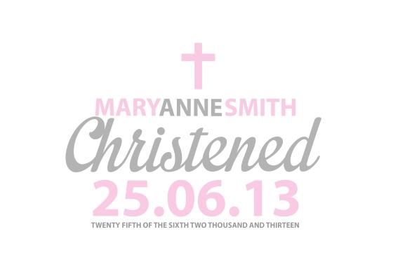 christening 1