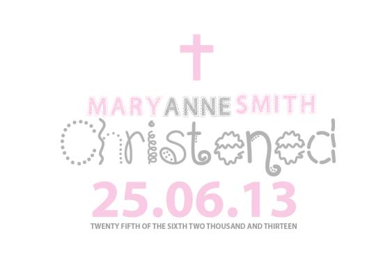 christening 6