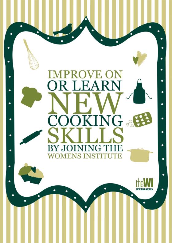 baking poster - green