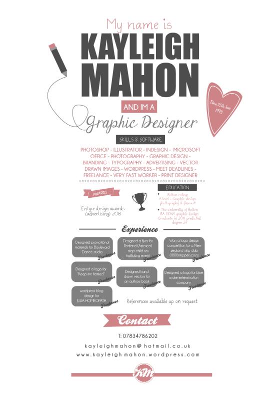 3. DESIGNED CV